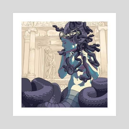 Medusa by David Newton