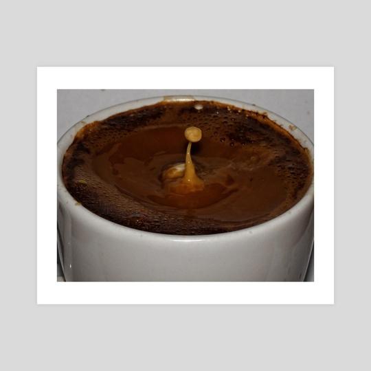 Coffee Milk Drop  by Vlad Stroe