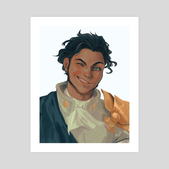 Claude Painting by Charlotte