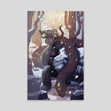 Black Tortoise - Acrylic by Brady Gurley
