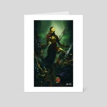 Trident. Code name - The plague - Art Card by Alvaro Cardozo