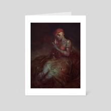 Red Cap - Art Card by Peter (Apterus) Polach