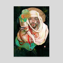 The Standing Death of Ben-Kei St. Sebastian - Canvas by JUURI