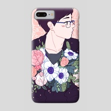 Flower Boy - Phone Case by Meyoco