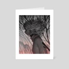 tangled - Art Card by Lois van Baarle
