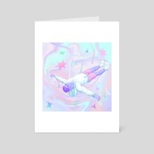 Dreaming - Art Card by zaliko