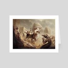 Defenders of Ardash - Art Card by Yigit Koroglu