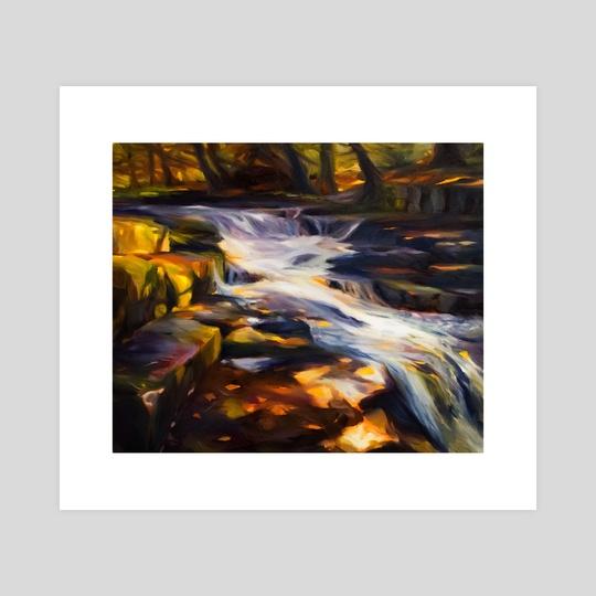 Waterfall II by Martha Wirkijowski
