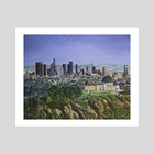 Los Angeles Skyline - Art Print by Andy Villon