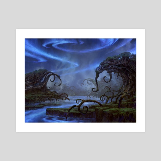 Swamp - Kaladesh by Adam Paquette