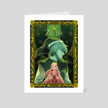 A Link Between Worlds - Art Card by Lauren Baldo