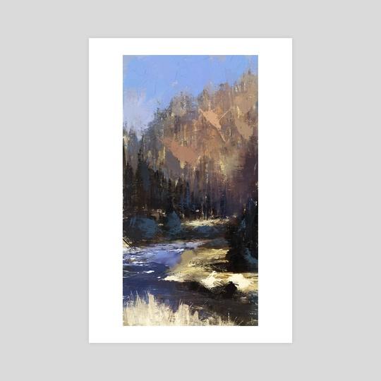Trinity River by Allison Gloe