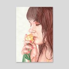 Such a sweet perfume - Acrylic by Aurelia Chaintreuil