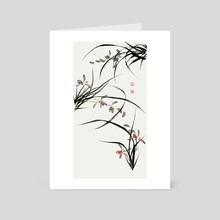 Orchid - 128 - Art Card by River Han