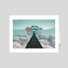 HERE - Art Card by 95 Ronin