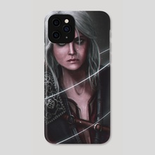 Ciri The Witcher - Phone Case by Mireia Fdz