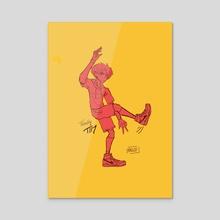 Illustration Original Character - Acrylic by Kaeloo Kaeloo