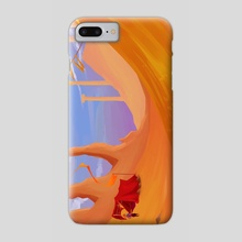 Amber Desert - Phone Case by Saren Hale