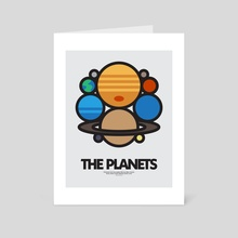 The Planets - Art Card by Jack Grimes