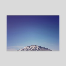 Mount Rainier - Canvas by Leah Flores