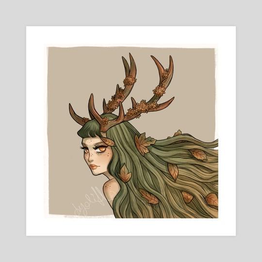 Forest Spirit by Kerli Edasi