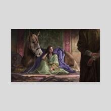 Merchants of Cidaria. - Canvas by Sam White