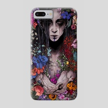 Flower Girl - Phone Case by Courtney Facca