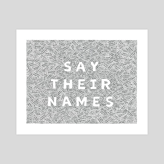 Say Their Names (2020) by Joseph Sanchez