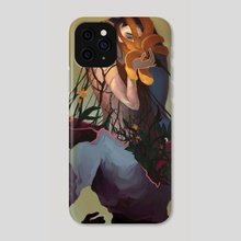 Reaping - Phone Case by Angelica Alzona