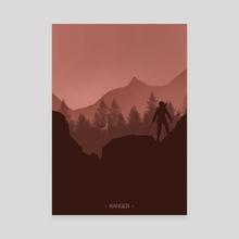Ranger - Canvas by Mariacristina Gugliotta