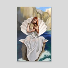 Goddess Artemis - Acrylic by Dani Art