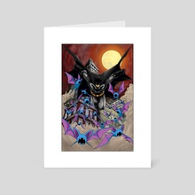 Batman X Zubat - Art Card by Creees Hyunsung Lee