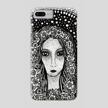 Virgo, the Virgin - Phone Case by Jacque Tiongco