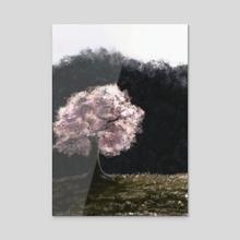 Sakura  - Acrylic by Geck Visual Arts
