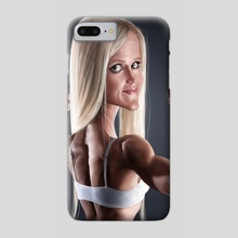 Holly Holm - Phone Case by Andre Koekemoer