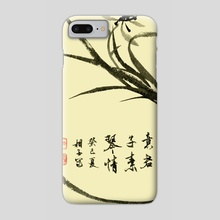 Orchid - 63 - Phone Case by River Han