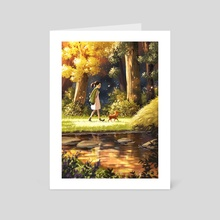 You Make Everything Magical  - Art Card by Yaoyao Ma Van As