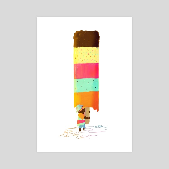 Ice Lolly by Carly A-F