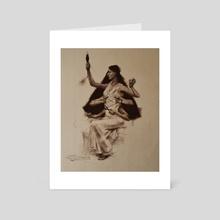 Time Goddess - Art Card by Staffan Alsparr
