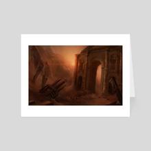 Fading of an era - Art Card by Stefano Borella