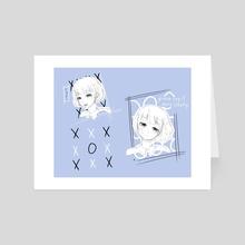 Say It. - Art Card by Ekko Mou