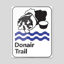 Donair Trail - Acrylic by Scott Marshall
