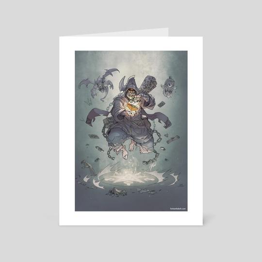 Dark Wizard  by Hicham Habchi