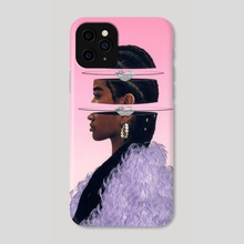 Fleeting Eyes Will Always Miss The Diamonds Inside [Pink Version] - Phone Case by Afroscope
