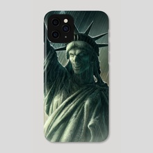 Liberty - Phone Case by Kerem Beyit