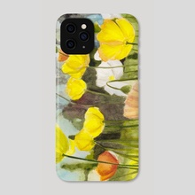 Poppies - Phone Case by Emma Falconer