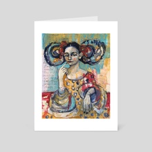 The Supposition - Art Card by Jane Spakowsky