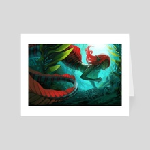 Mermaid - Art Card by jyn sing