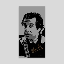 Al Pacino - Canvas by Kunal Kundu