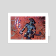 Rising Tempest - Art Card by Jonathan Vair Duncan